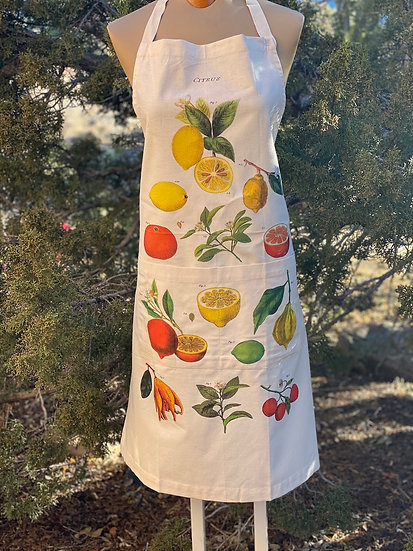 Cavallini & Co. Vintage cotton aprons