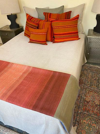 Libeco Napoli Vintage Flax coverlet/blanket