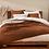 Thumbnail: Coyuchi Cascade Rust  organic cotton blankets/coverlets