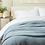 Thumbnail: Coyuchi Cascade organic matelasse blankets/coverlets (many colors)