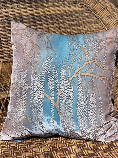 Willow Robins egg blue pillows