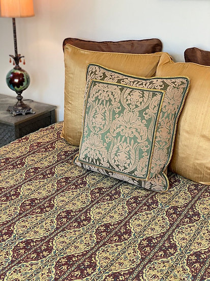 Reversible cotton textile from Syria