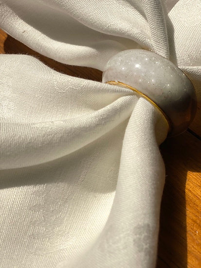 Napkin rings from India (2 colors)