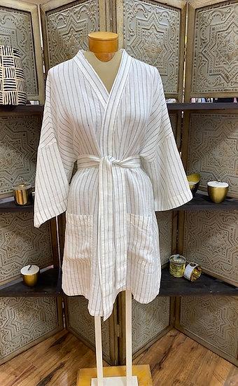 Linen bathrobes, 2 colors