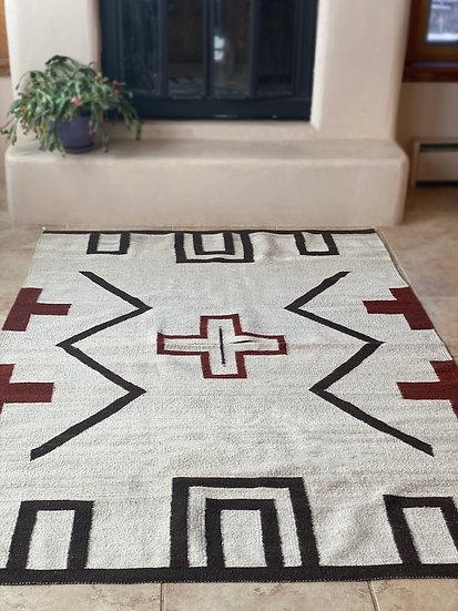 "Sergio Martinez rug ""Cabin Style"" (5'x7')"
