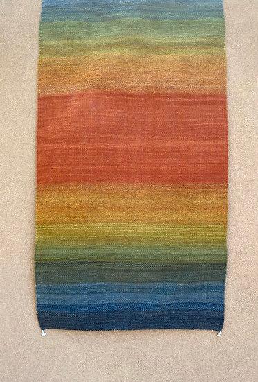 "Sergio Martinez rug ""Rainbow"" (31""x60"")"