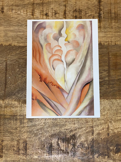 Georgia O'Keeffe Abstract flowers box card set