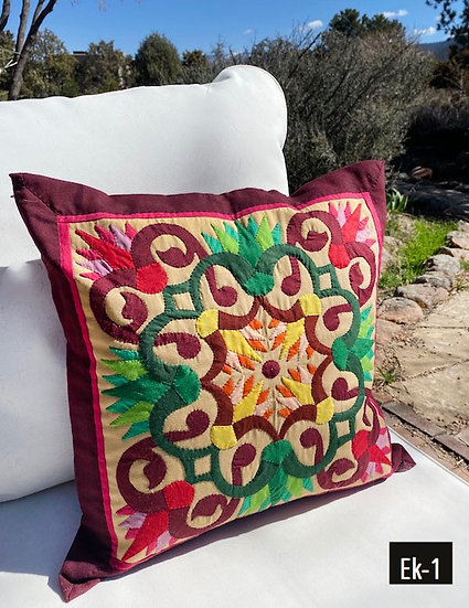 Egyptian khayamiya pillow covers