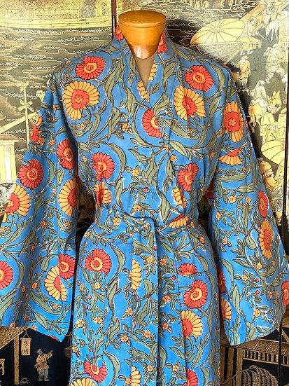 Indian cotton kimono robes (many styles)