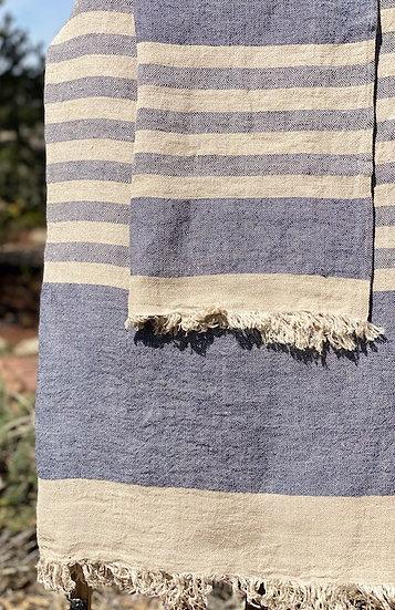 Libeco Belgian towels Sea Stripe