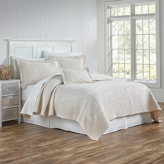 Traditions Linens Palmer Matelasse Coverlets