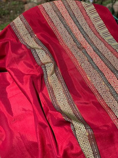 Gorgeous silk Indian Saris (many colors)