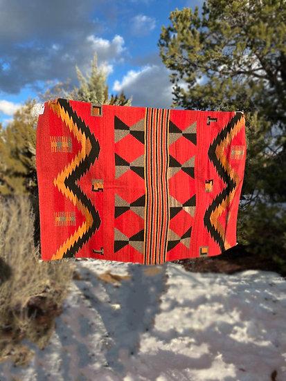"Sergio Martinez rug ""Navajo Style"" (4'3""x6'6"")"