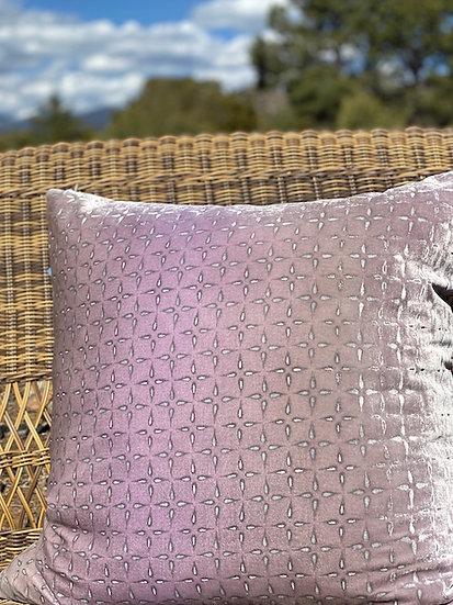 Iris velvet pillows