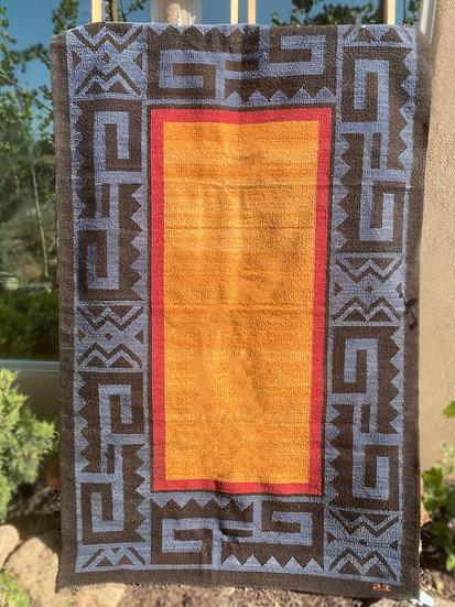 Sergio Martinez Blue/Orange rug