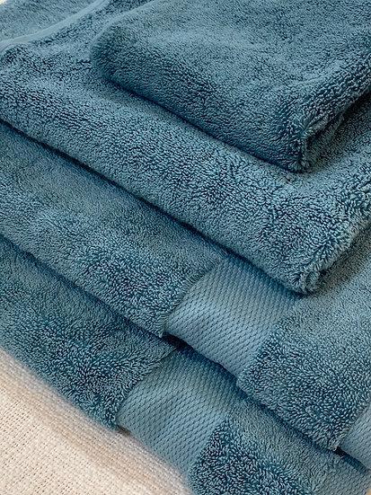 Sferra towels 775 Bello Teal