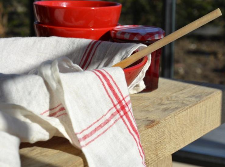 Libeco Confiture tea towel