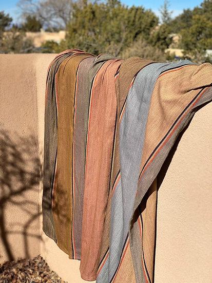 """Sergio Martinez """"Tierra obscura"""" cotton throw"""