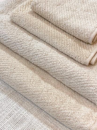 Coyuchi towels Air Weight Natural