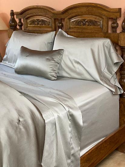 Sferra Fiona cotton sateen sheets (many colors)
