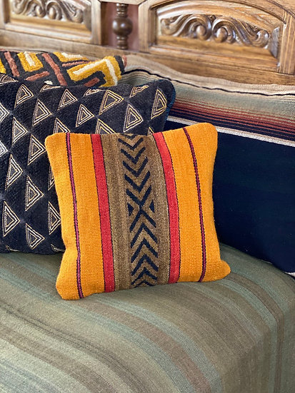 Sergio Martinez wool pillows