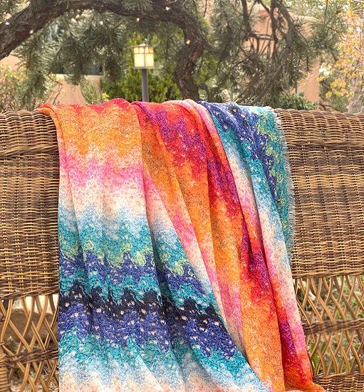Missoni throw Vittoria 100 (wool)