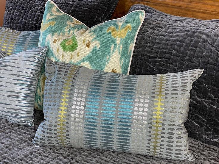 """Margo Selby """"Charleston"""" pillows"""