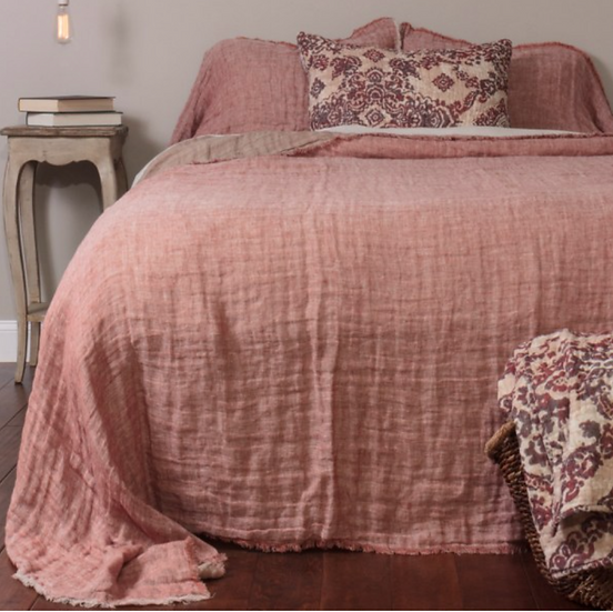 Amity Home Kent king linen cover/blanket