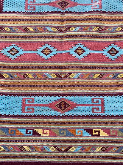"Sergio Martinez ""Zapotec Star"" rug"