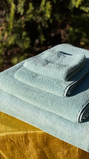 Microcotton Luxury Aqua towels SALE