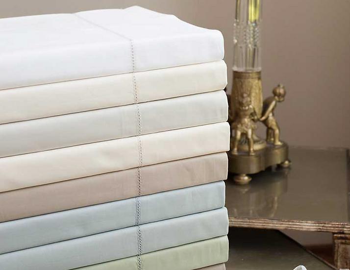 Home Treasures Perla cotton percale sheets (many colors)