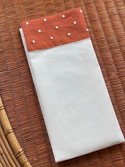 Linen/cotton guest towels