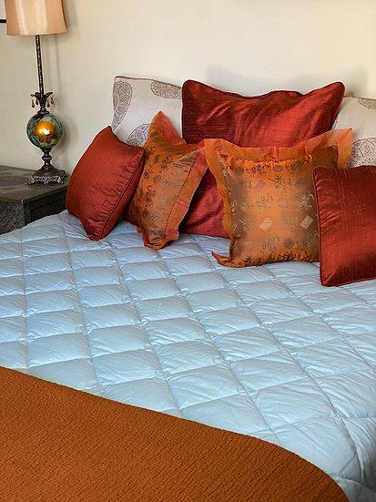 Silk Duponi pillows
