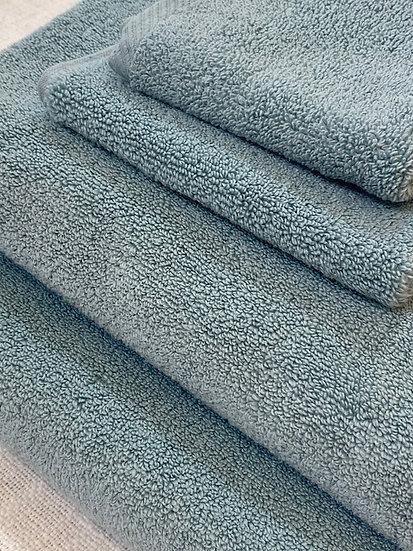 Microcotton towels Aqua