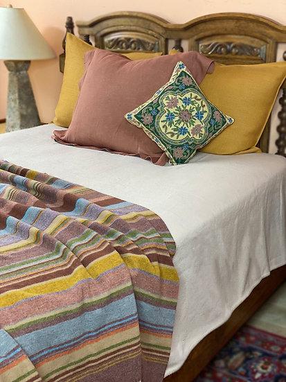 John Atkinson fine merino wool blankets/coverlets