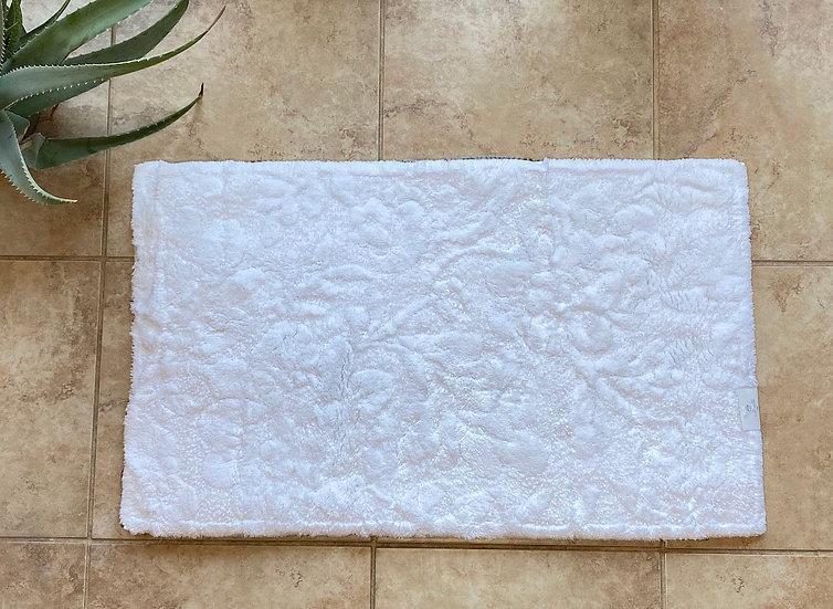"Abyss Habidecor ""Brighton White"" bath rug"