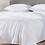 Thumbnail: Coyuchi Cascade White organic cotton blankets/coverlets