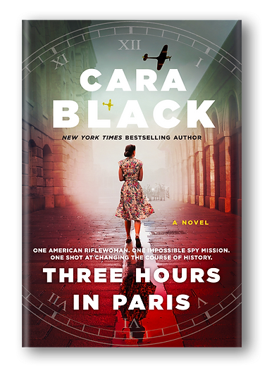Three Hoursin Paris by Cara Black