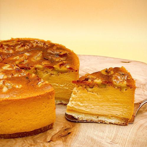 キャラメルくるみチーズケーキ
