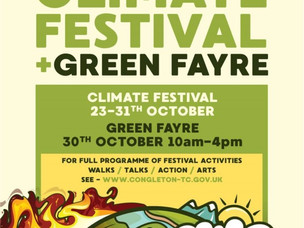 Congleton to host climate and green  festival