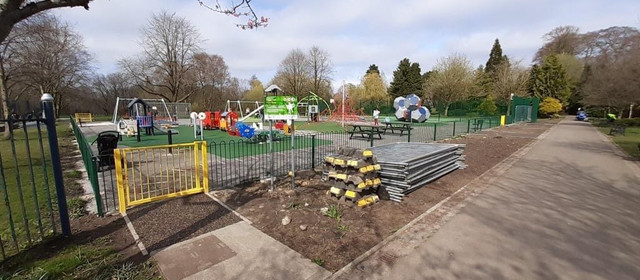 New Brough park play area opens in time for Easter