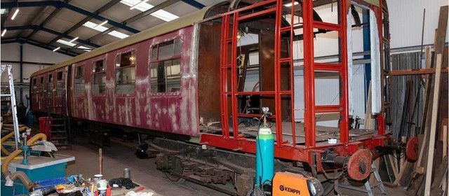 heritage railway makes progress on extra coaches to support services to Leek