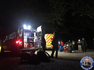 Buxton Mountain rescue training becomes live incident in Macclesfield