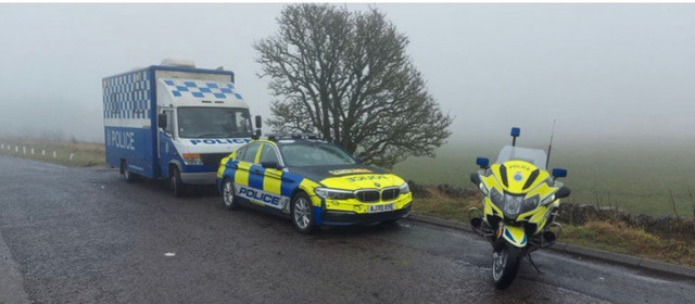 Dozens caught speeding and vehicles seized as officers hit the road in the Moorlands