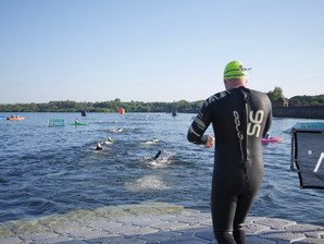Hundreds brave warm conditions to complete IRONMAN 70.3 Staffordshire