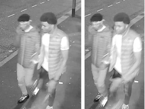 Police release CCTV after Hanley assault which left two men unconscious in the street