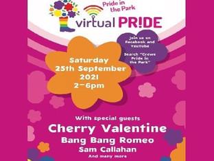 Crewe Pride in the Park postponed