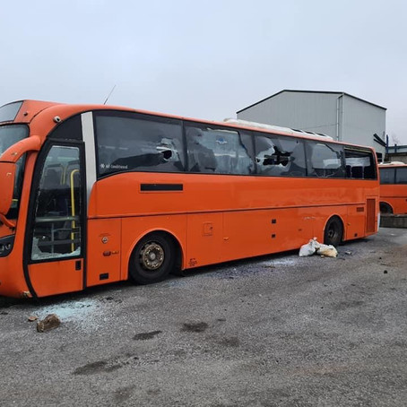 Vandalism at family run bus company enough to  finish business