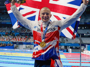 Staffordshire celebrates as Adam Peaty brings home team GB's first gold from Tokyo