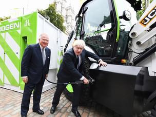 JCB super efficient hydrogen engine gets £100M boost